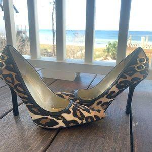 Guess Shoes - Guess 7 1/2 leopard heels